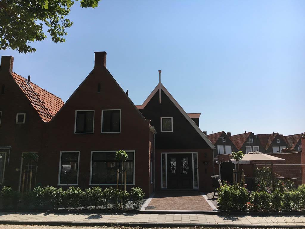 Tuinontwerp grote voortuin for Tuinontwerp noord holland