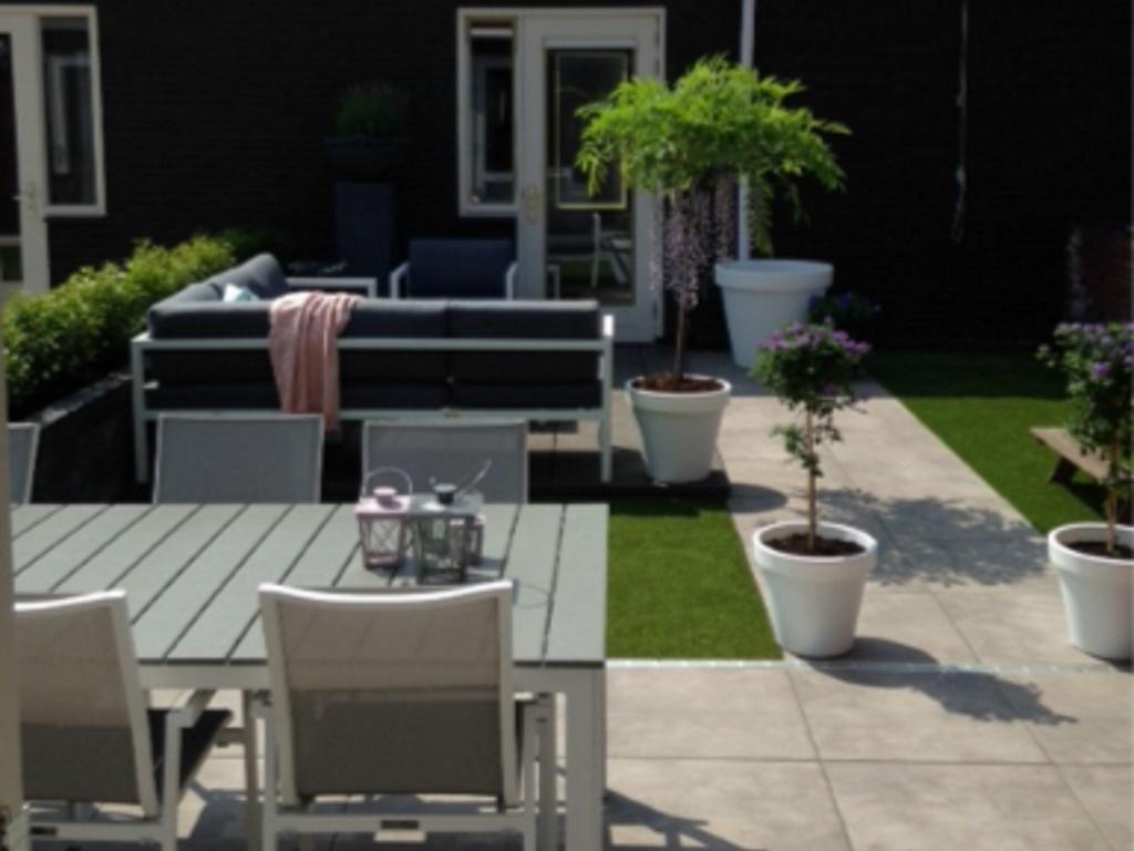 3D Tuinontwerp kleine tuin
