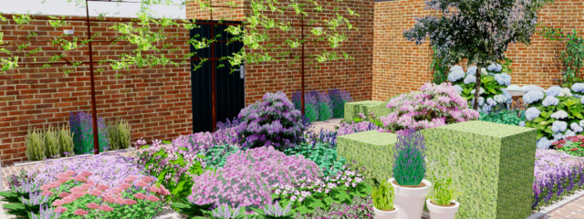 Tuinontwerp wilde tuin for Tuinontwerp amstelveen